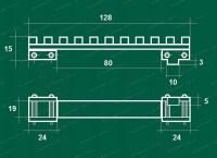 Кронштейн ВОМЗ на CZ 537 / 550 / CZ 557 с базой Weaver стальной