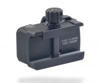Прицел коллиматорный Discovery Optics DS Micro Mini Red Dot с точкой 4 МОА на Weaver