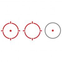 Коллиматорный прицел Holosun Open Elite с солнечной батареей и тремя красными марками в титановом корпусе