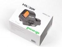 Коллиматорный прицел Holosun Open Elite с солнечной батареей сменные зеленые марки быстросьемный