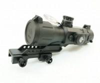 Прицел Leapers Prism T4 CQB 4x32 с сеткой Mil-Dot призматический
