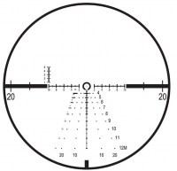 Прицел Leupold Mark 6 1-6x20 FFP 34 mm с сеткой CMR-W 7.62 и подсветкой оптический