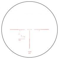 Прицел призматический ВОМЗ Pilad Р2.5х24L Brevis с баллистической сеткой 7.62x39