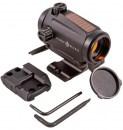 Прицел Sightmark Element Mini Solar + кронштейн для АР-15 с точкой 3 МОА и солнечной батареей коллиматорный