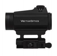 Коллиматорный прицел Vector Optics Maverick 1x22 Gen II с креплением на Weaver / Picatinny быстросьемный