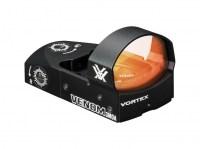 Коллиматорный прицел Vortex Venom Red Dot с ручной и авто регулировкой яркостью на оружейную планку