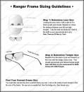Оправа Randolph RANGER EDGE дужки изогнутые размер линз 67 мм и 69 мм