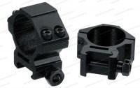 Кольца Leapers Accushot 30 мм на Picatinny/Weaver низкие винтовой зажим