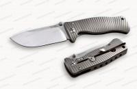 Нож LionSteel серии SR-1 Titanium лезвие 94 мм рукоять титан