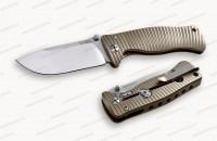 Нож LionSteel серии SR2 mini Titanium лезвие 78 мм в деревянной коробке