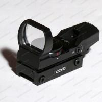 Коллиматорный прицел Target Optic 1X33 с двухцветной мульти сеткой на ласточкин хвост 11 мм