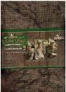 Ткань Mossy Oak тканая рогожа в цвете Duck Blind для создания засидки