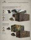 Камуфляжная ткань Mossy Oak для создания засидки гладкая в цвете Duck Blind