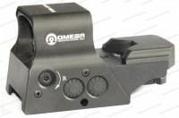Коллиматорный прицел Vector Optics Omega с зарядкой от солнечной батареи и креплением на Weaver / Picatinny
