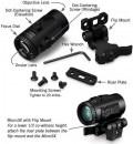 Увеличитель Vortex Micro 3x Magnifier откидной совместимый с EOTech и Aimpoint
