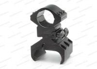 Кронштейн на ИЖ-43 / ИЖ-58 / TOЗ-66 / ИЖ-54 с базой Weaver для крепления подствольных фонарей