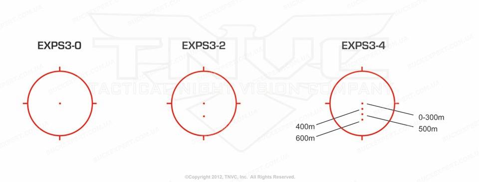 Коллиматорный прицел EОTech EXPS 3-0 Tan с поддержкой ПНВ быстросьемный