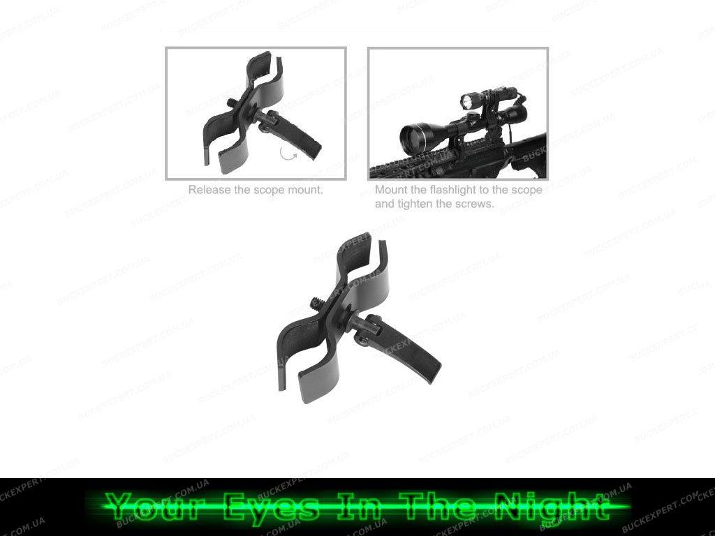 Кронштейн NexTORCH для фонаря с креплением на оптический прицел