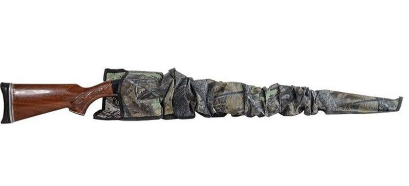 Чехол Allen чулком длиной 135 см для оружия без оптического прицела из синтетической ткани камуфляжный