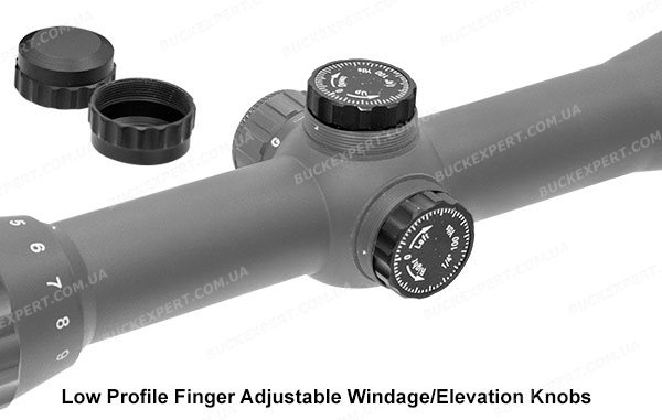 Прицел Leapers Hunter 3-9x32 подсветка сетка-нить Mil-Dot параллакс на 91 метр