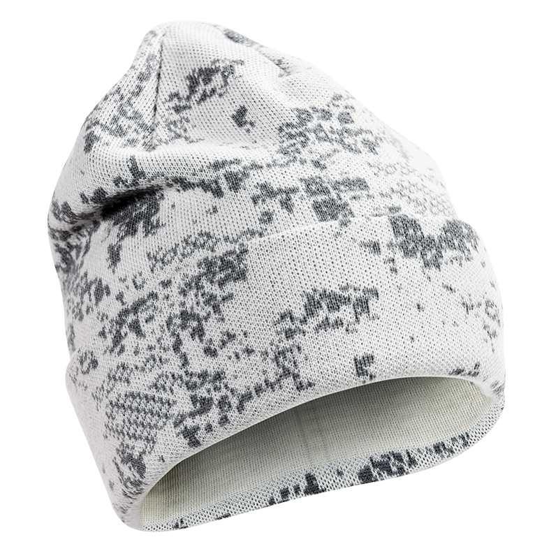 Шапка Alaska Merino Beanie Snow BlindTech Invisible из шерсти мериноса