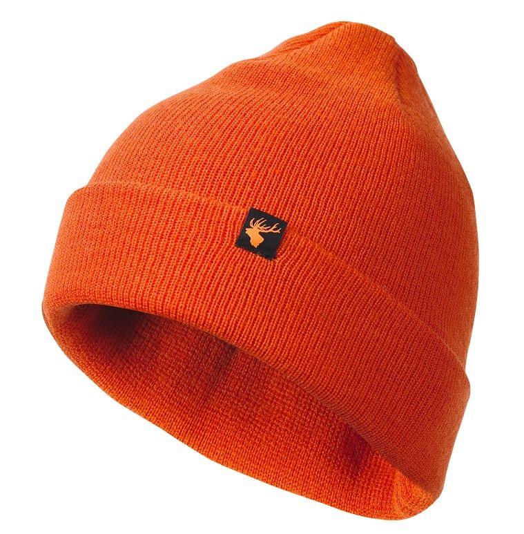 Шапка Alaska Merino Wool Hat Orange из шерсти мериноса