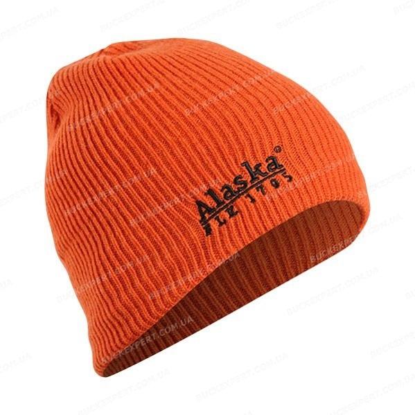 Шапка Alaska Rib Woolen Hat Orange шерстяная