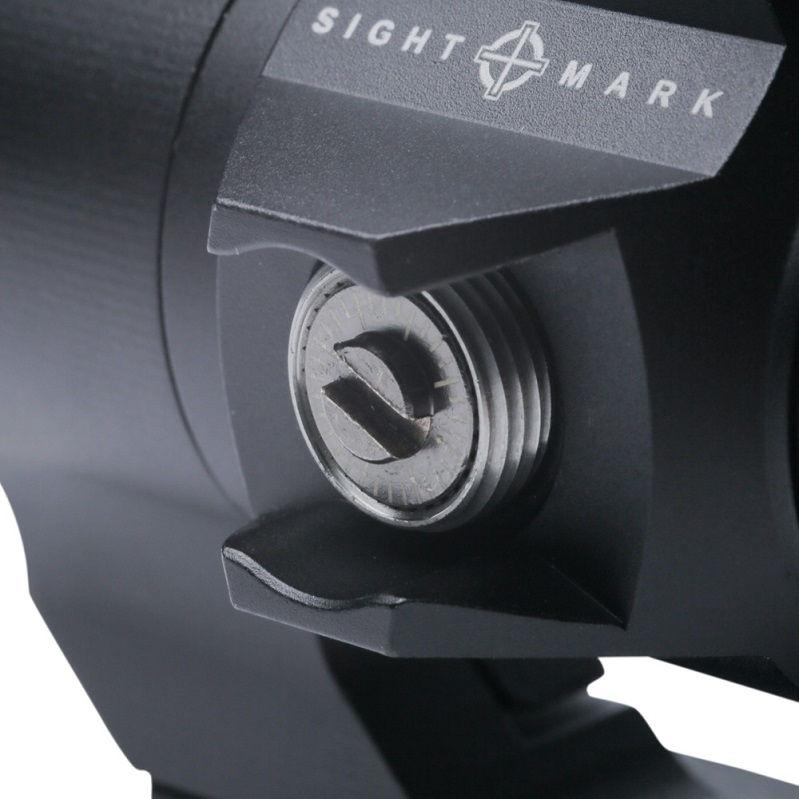 Коллиматорный прицел Sightmark Element 1x30 с точкой 2 МОА на Weaver / Picatinny тактический