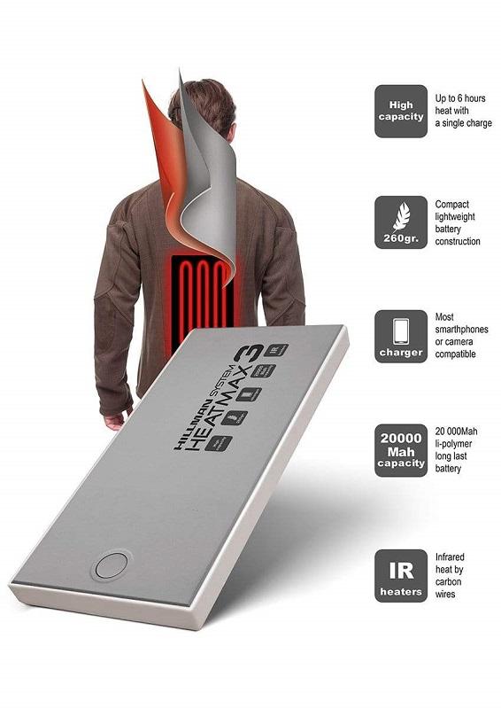 Система подогрева Hillman Heatmax для охотничьей одежды
