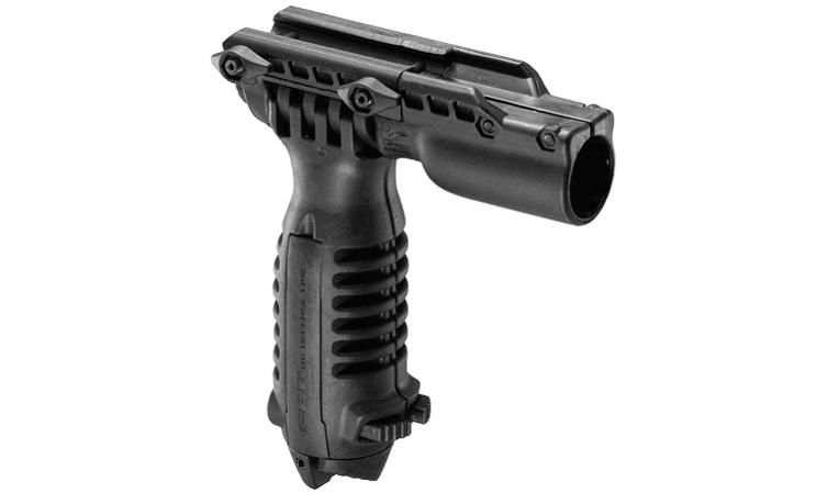 Сошки - рукоятка Fab Defense переноса огня с креплением для фонаря
