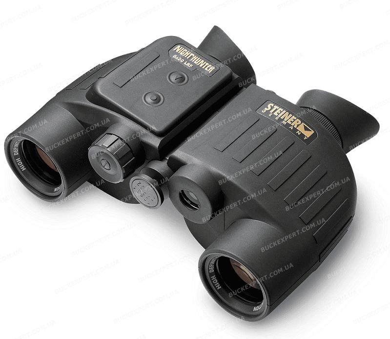 Бинокль - дальномер Steiner Nighthunter LRF 8x30 25 - 1700 м