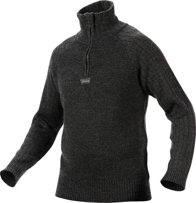 Свитер Alaska Merino Wool Dark Grey из шерсти мериноса