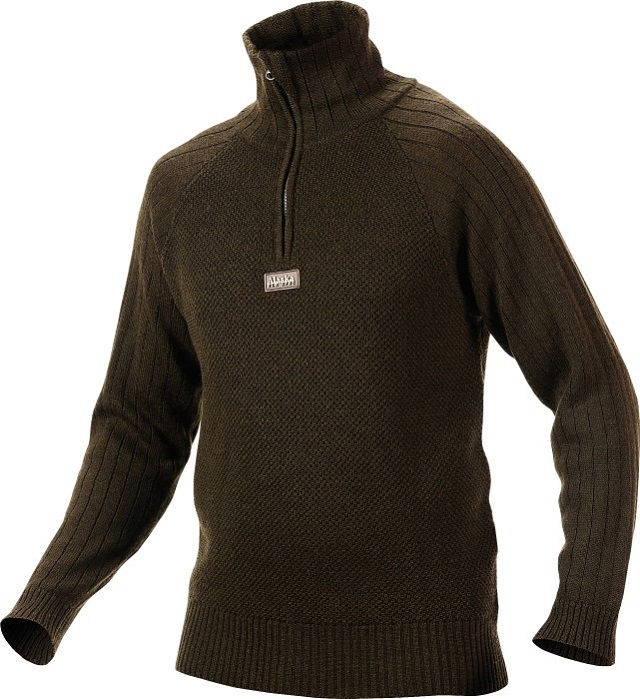 Свитер Alaska Merino Wool Forest Green из шерсти мериноса