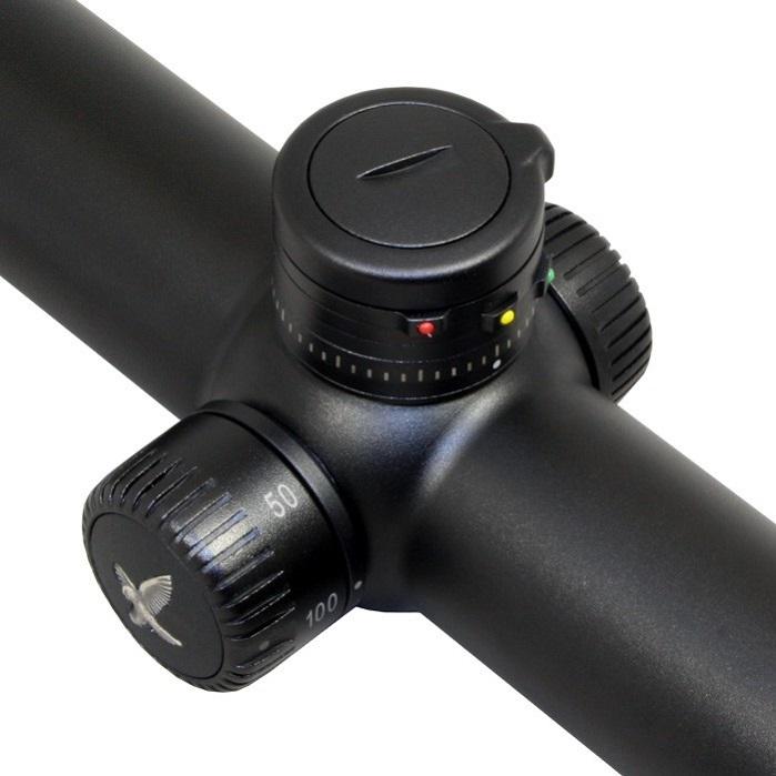 Оптический прицел Swarovski Z6i II 2.5-15х44 P BT L с корректировкой параллакса под кольца с подсветкой