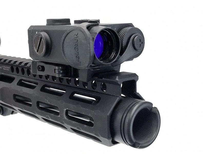 Тактический блок Holosun с ЛЦУ красный луч / инфракрасным целеуказателем и инфракрасным фонарем