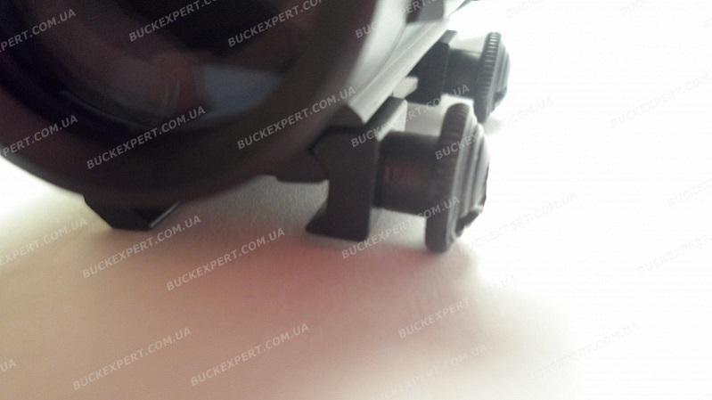 Коллиматорный прицел Target Optic 2х42 с точкой 5 МОА и увеличительной насадкой на Weaver