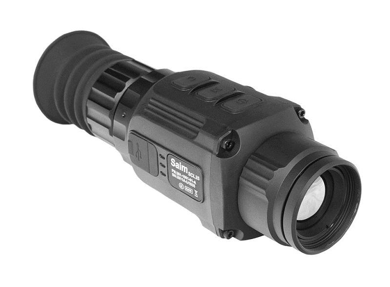 Прицел IRay Saim SCL25 / 17 µm с матрицей 384x288 на 25 мм обьективе тепловизионный