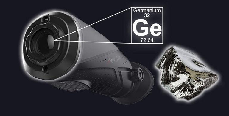 Тепловизор iRay Xeye E2N с матрицей 240x180 / 17um на 13 мм обьективе с дальностью 800 метров