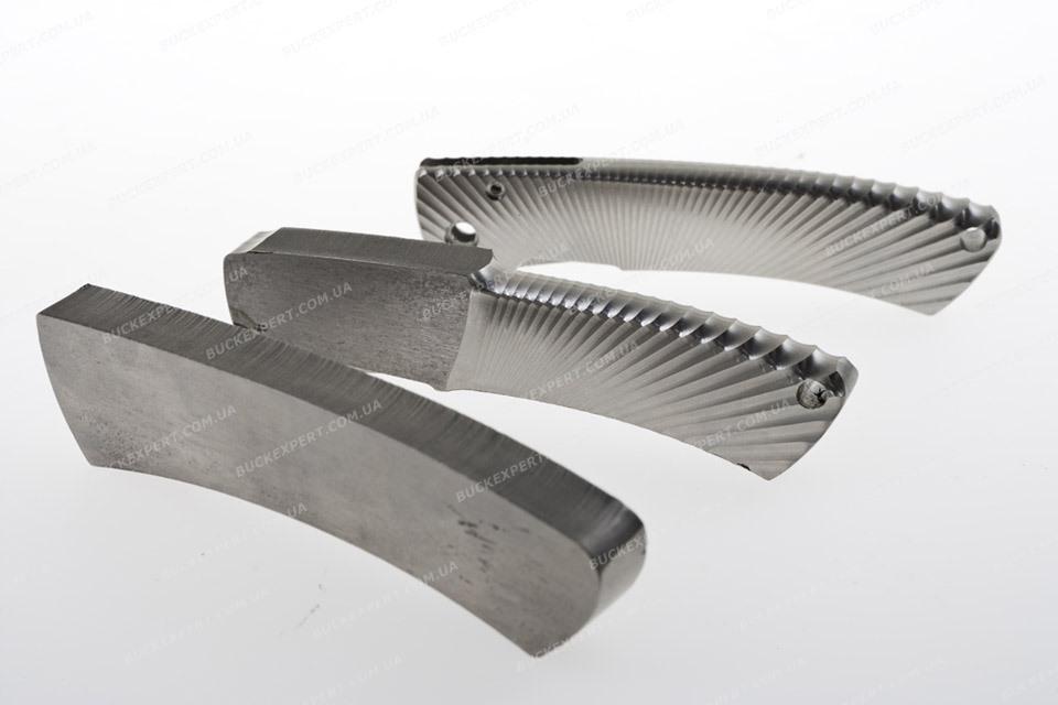 Нож LionSteel складной серии TS1Titanium лезвие 85 мм рукоятка титан в тубусе