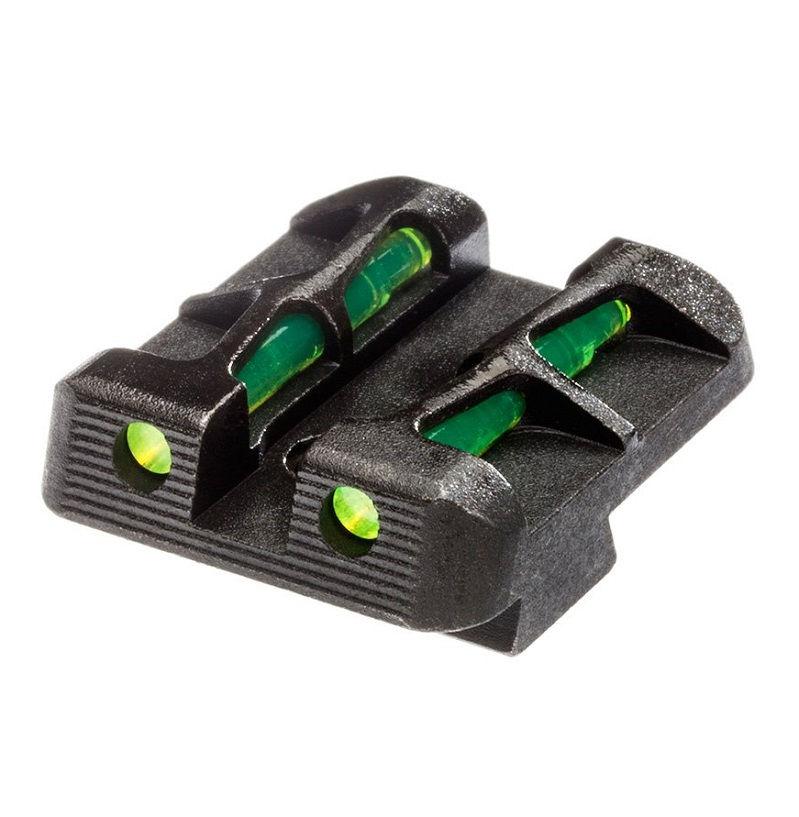 Целик HiViz для пистолетов Glock оптоволоконный