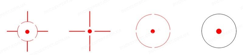 Коллиматорный прицел Vector Optics Imp 1x23x34 с креплением на ласточкин хвост