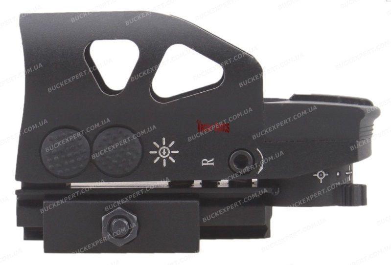Коллиматорный прицел Vector Optics Ratchet с креплением на Weaver / Picatinny