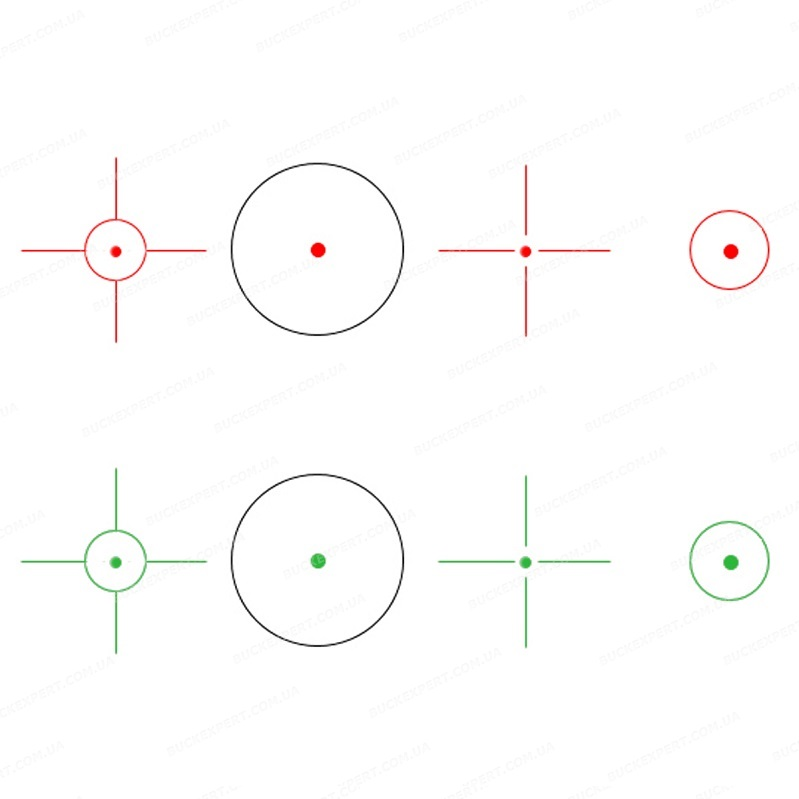 Коллиматорный прицел Vector Optics Sable с креплением на Weaver / Picatinny