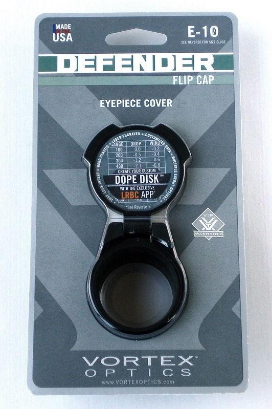 Крышка Vortex Defender на окуляр прицела с фиксацией в трех положениях