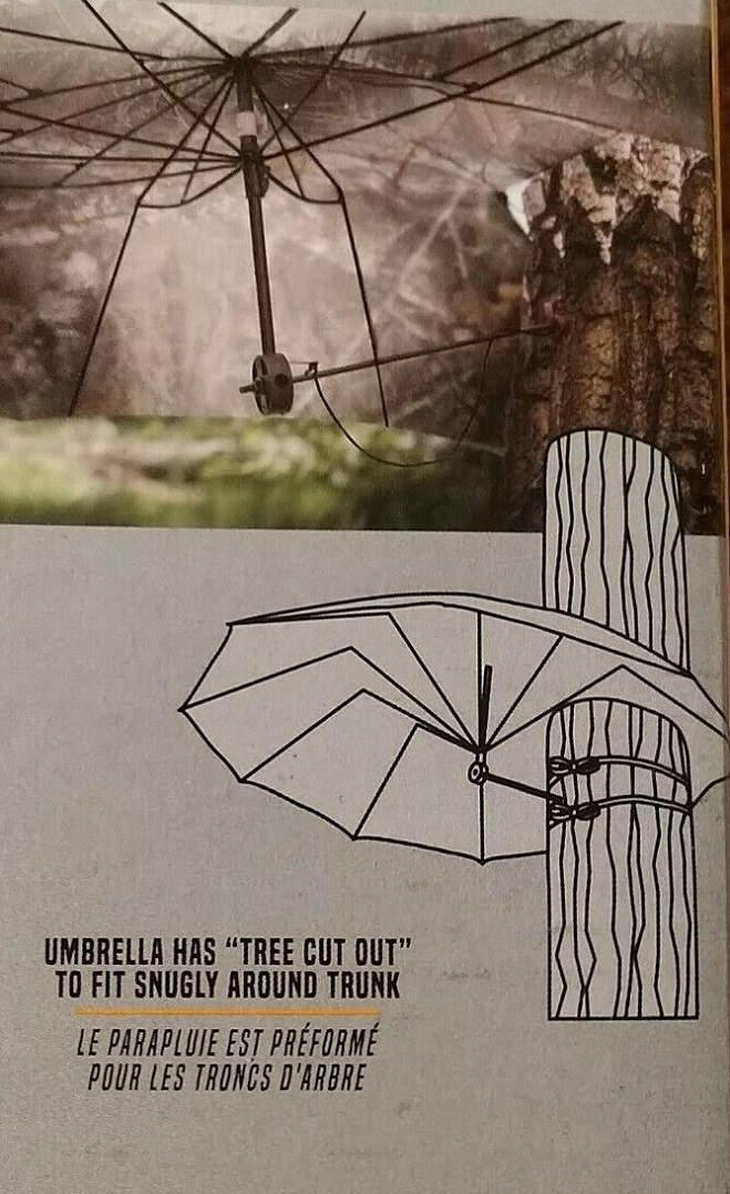 Зонт - укрытие Allen в цвете Realtree Edge для охоты